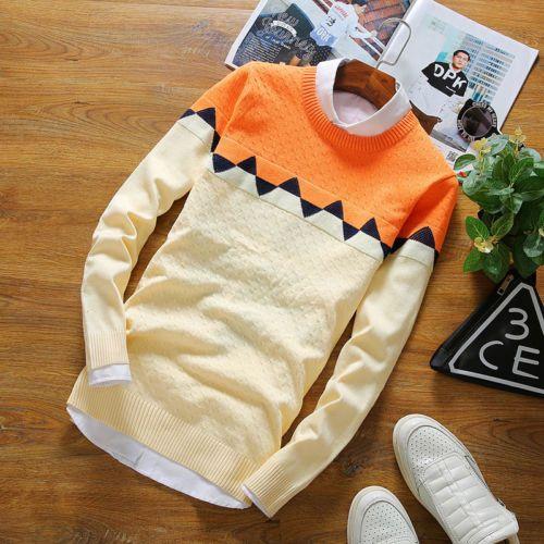Zafraa Cream Printed Sweater