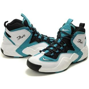 http://www.asneakers4u.com/ Penny Hardaway Shoes   Nike Air GO LWP White/Black/Green