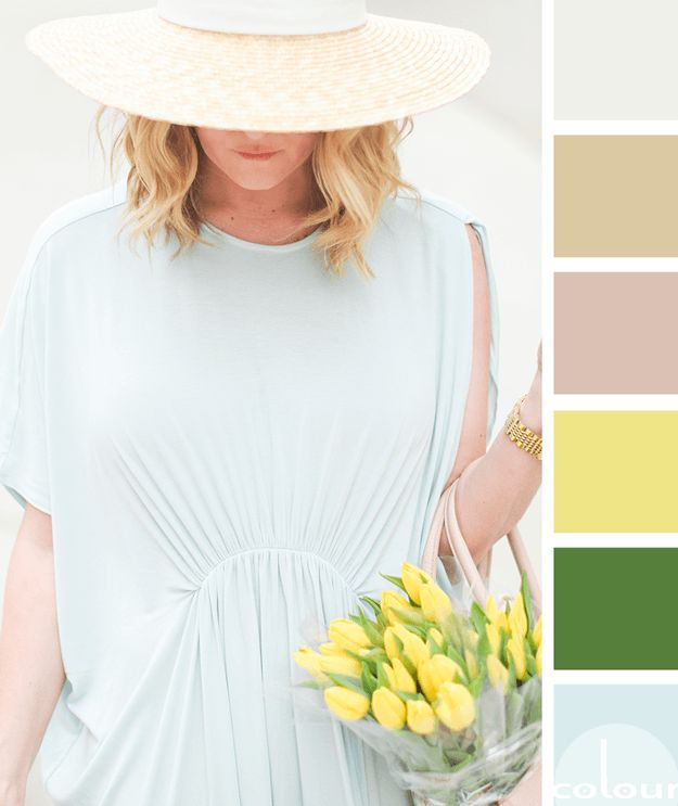 Pale brownish yellow colour dress