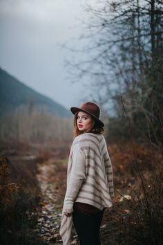 outdoor natural fall portrait