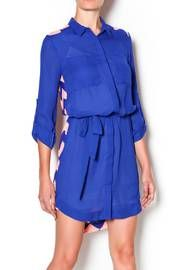 Chevron Shirt Dress