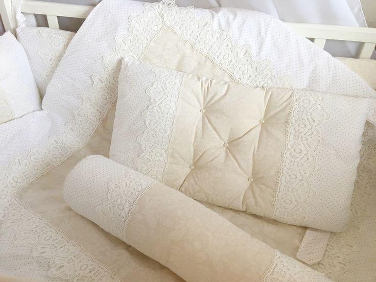 Бортики и одеялко в детскую кроватку