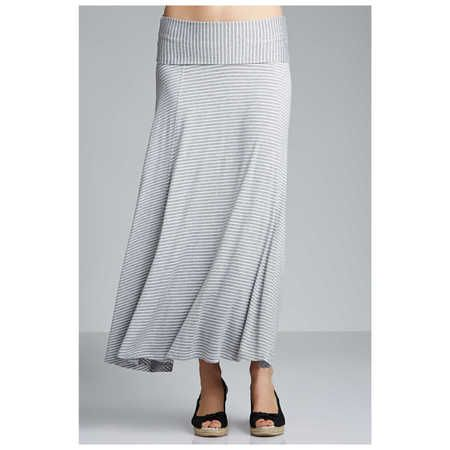 A soft, stretchy, light colored (off-white) maxi skirt when I am feeling vulnerable or cold.