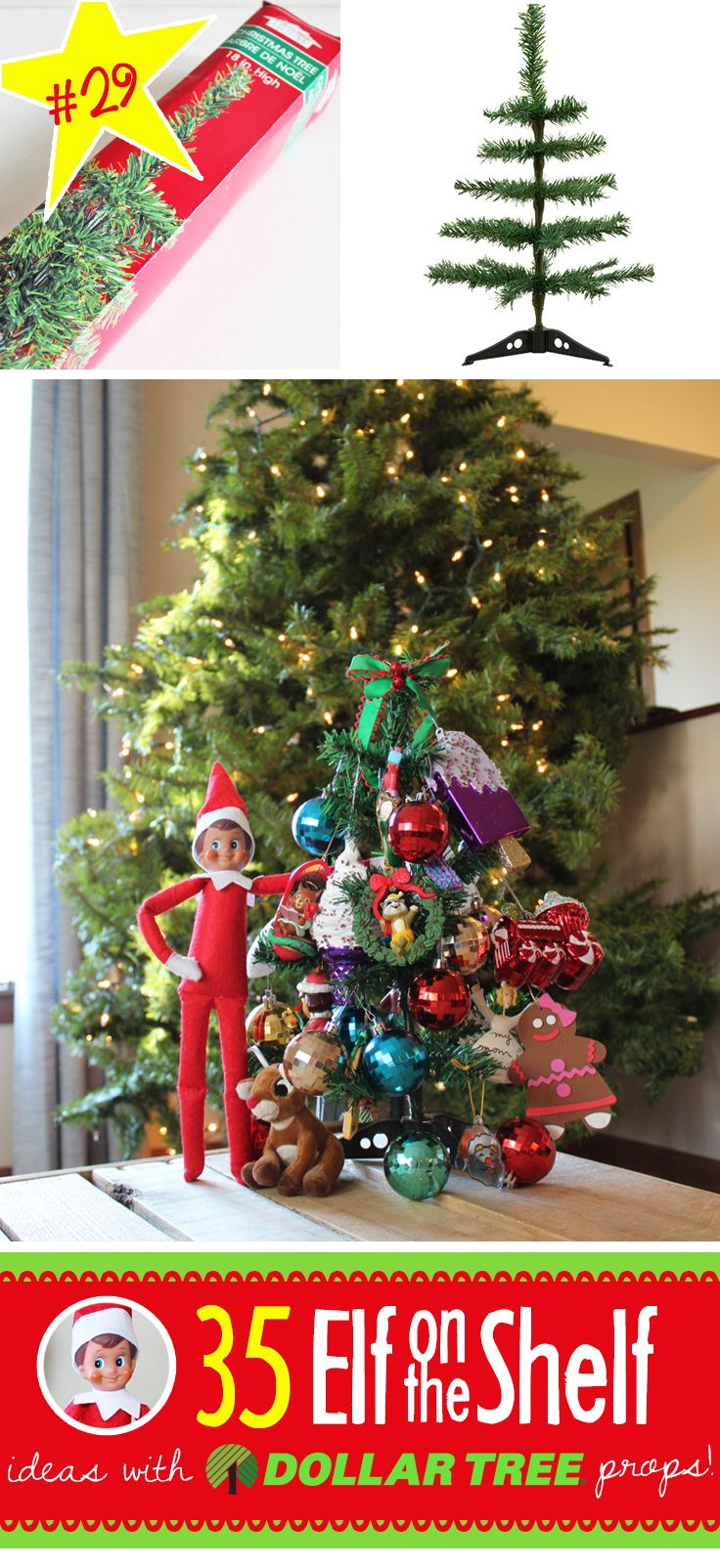 Steals ornaments for the tree or makes ornaments for their tree.