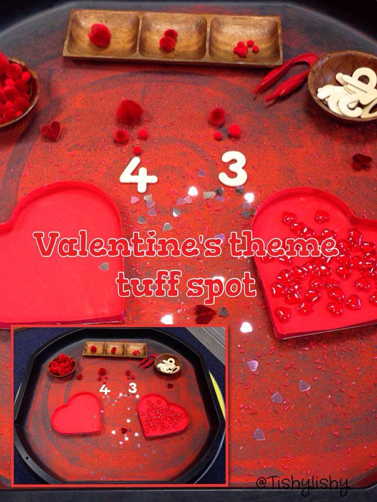 Valentine's theme tuff spot