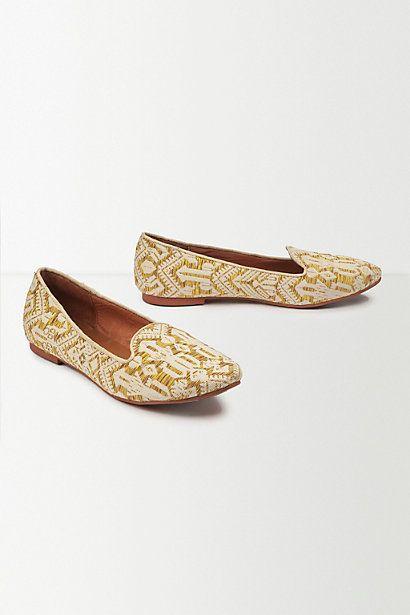 Maison Scotch Jacquard Loafers #anthropologie