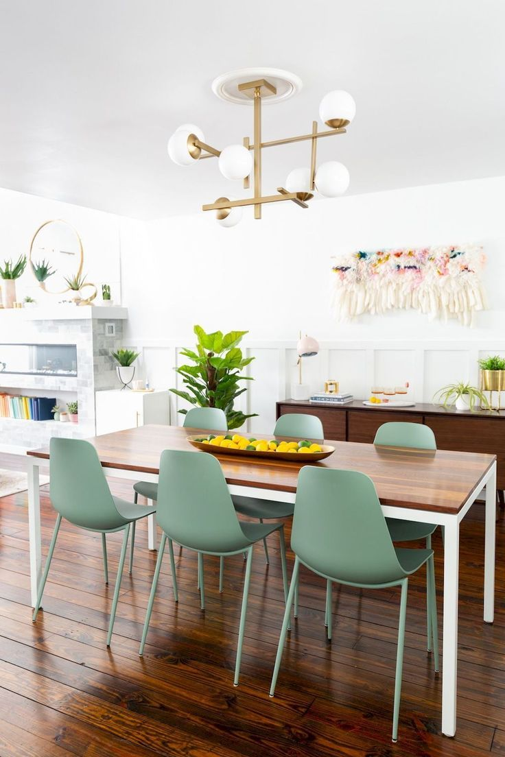 Green Dining Room Chairs Bohemian Dining Room Decor Green Dining Chairs Dining Room Makeover