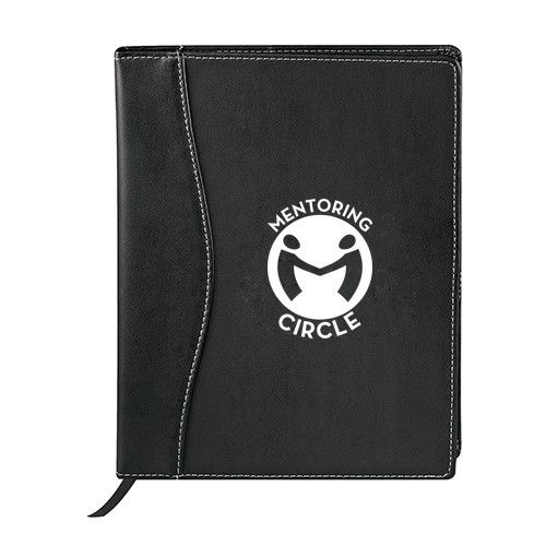 Logoed Hampton JournalBook™ (Q65541)