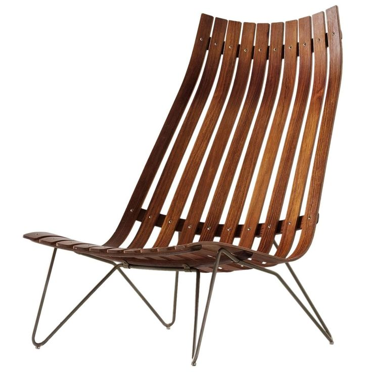 Hans Brattrud 'Scandia' Lounge Chair in Rosewood 1