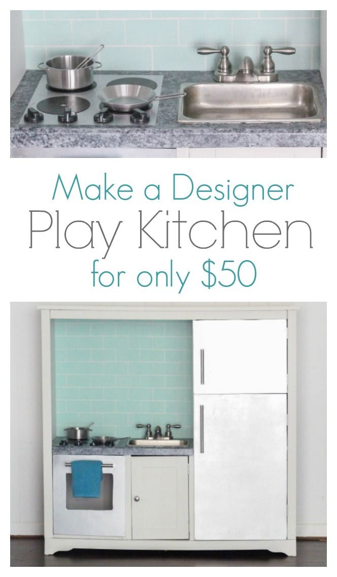 25 unique toy kitchen ideas on pinterest diy play Realistic play kitchen