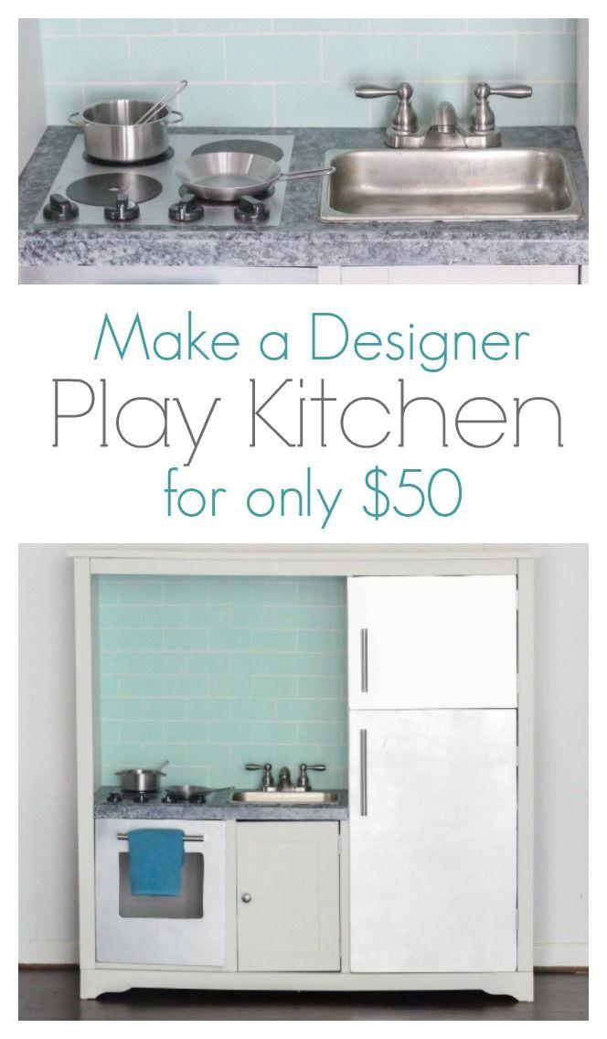 Wooden Play Kitchen Plans best 25+ wooden play kitchen ideas only on pinterest | kids wooden