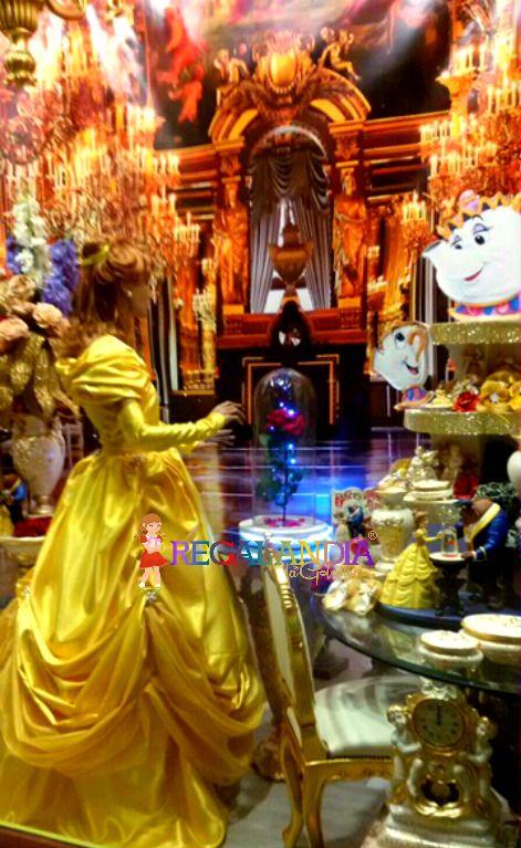 #Bel #Disney #Beautyandthebeast #shop window