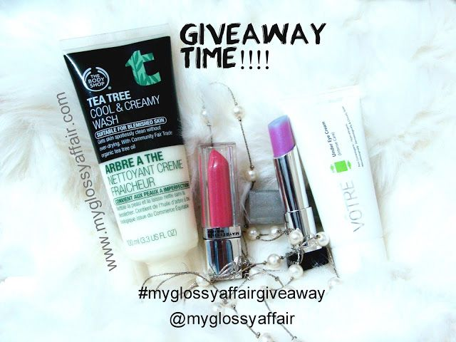 MyGlossyAffair's 3rd Anniversary Giveaway :)