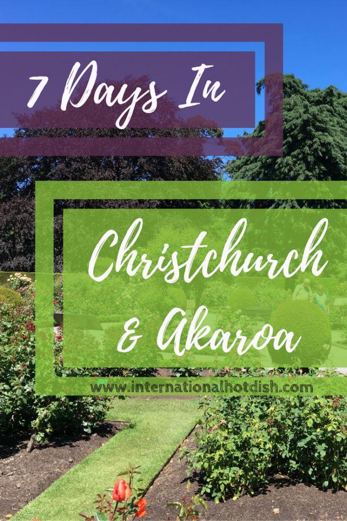 Recap: Christchurch & Akaroa, New Zealand - International Hotdish