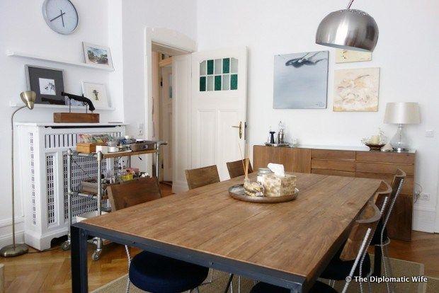 Dining room interior #diplohome #teak #interiordesign #interiors # ...