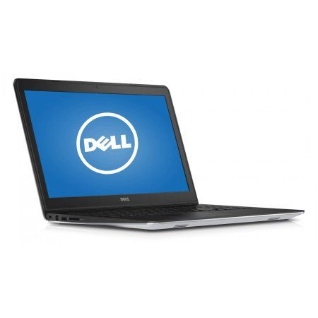 """Dell 15.6"""" Silver Inspiron i5545-6500sLV Laptop PC with AMD A8-7100 Processor, 8GB Memory, touch screen, 1TB Hard Drive and Windows 8.1  (Free Windows 10 Upgrade before July 29, 2016)"""