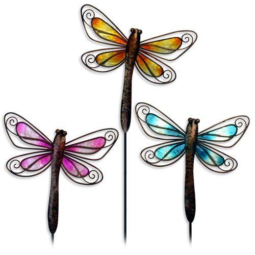 Dragonfly Garden Stick or Wall Decor . $3.04