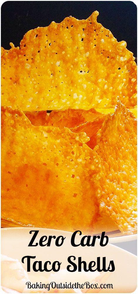 #bakingoutsidethebox |Crispy zero carb taco shells.  So easy to make and even easier to eat!