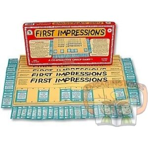 Often we form first impressions of each other based on what someone likes or dislikes, or how they look or speak. This game, in a non-competitive, relaxed and friendly format, allows players to describe these first impressions using the Special Idea Cards provided. The Cards are sometimes serious, sometimes playful and humorous. Always thought-provoking.