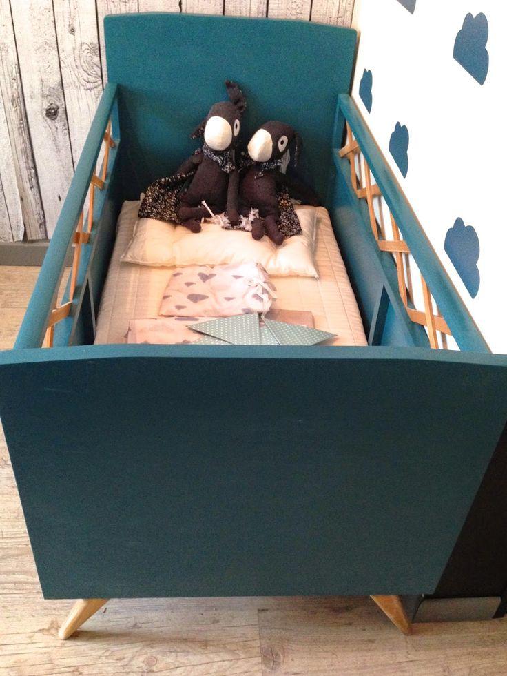 caractériELLE: Avant - Après : lit de bébé vintage