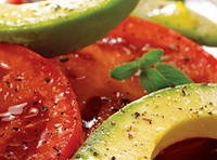 Avacado, Tomato & Mozzarella Salad: Tomatoes Mozzarella Salad, Avocado Recipes, Tomato Mozzarella Salad, Black Beans, Salad Recipes, Savory Recipes, Beans Salad, Avocado Tomatoes, Dips Recipes