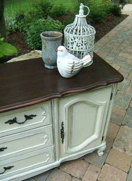 french provincial long dresser