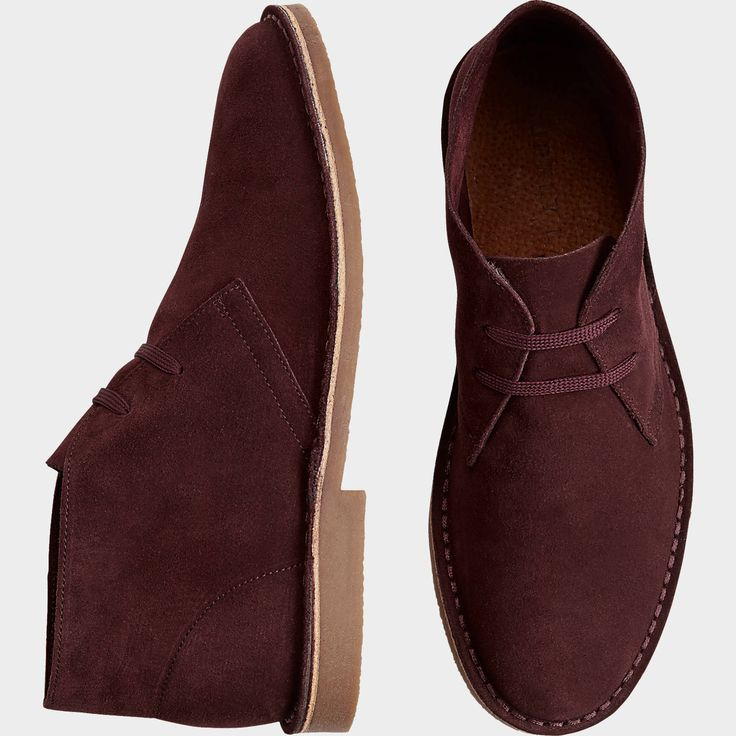Buy a Supply Lab Beau Burgundy Suede Chukka Boots online at Men's Wearhouse. See the latest styles of men's Boots. FREE Shipping on orders $99+.