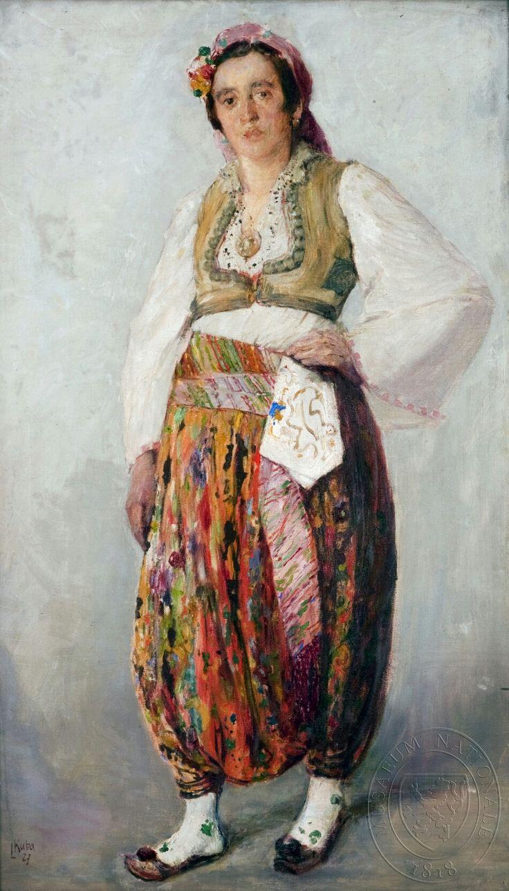 Ludvík Kuba - Srbská dívka z pazaru