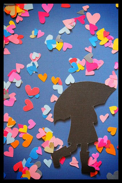 This would be cute for the spring. paper art!