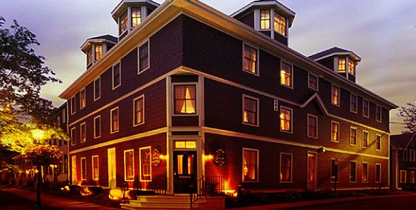 Great George Hotel, Charlottetown, Prince Edward Island, Canada - Located in the heart of Charlottetown, this historic property offers guests great service, luxury, and a variety of unique room choices.