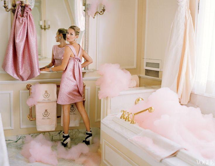 Kate Moss, Vogue-April 2012, shot by Tim Walker
