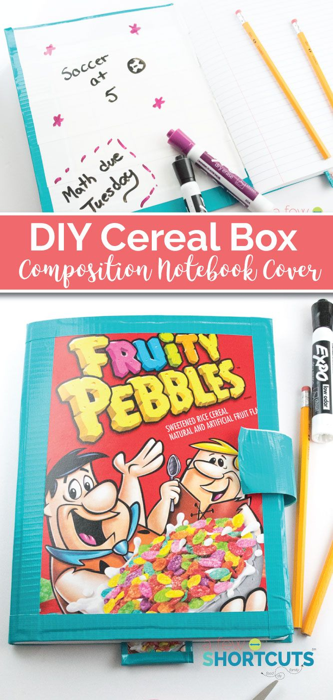 374 best kids craft shortcuts images on pinterest baby for Diy cereal box