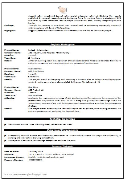 21 best Best Construction Resume Templates \ Samples images on - usajobs resume format