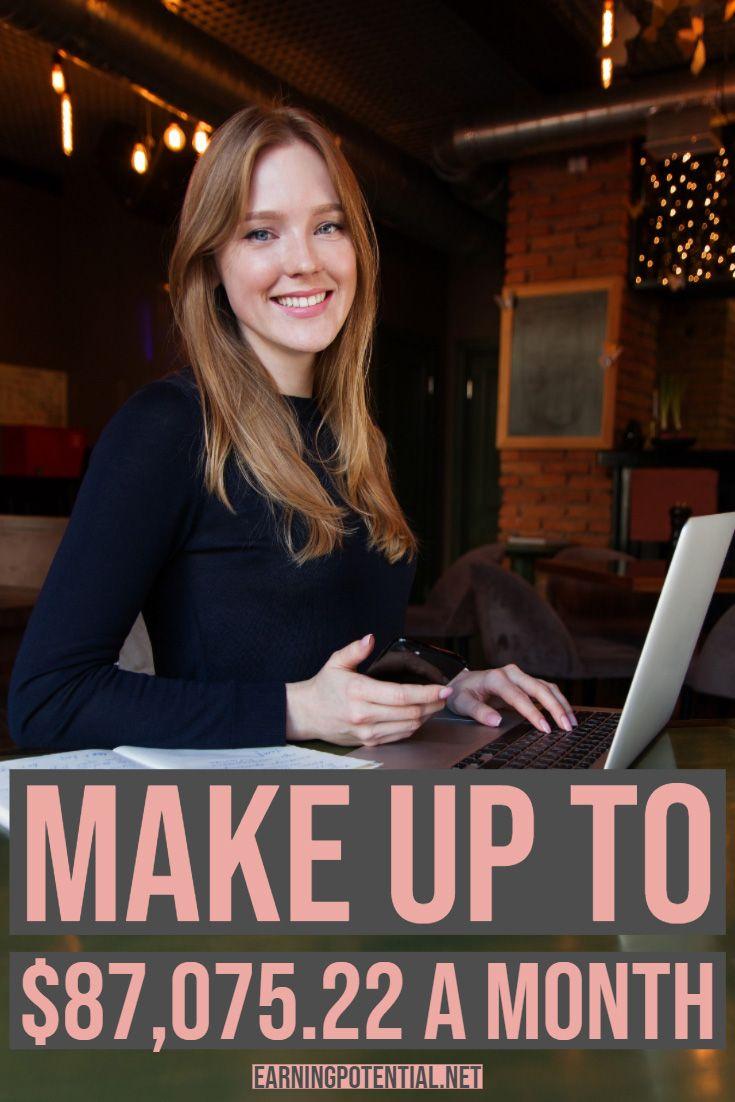 Make up to $87,075.22 a month – Finanzas
