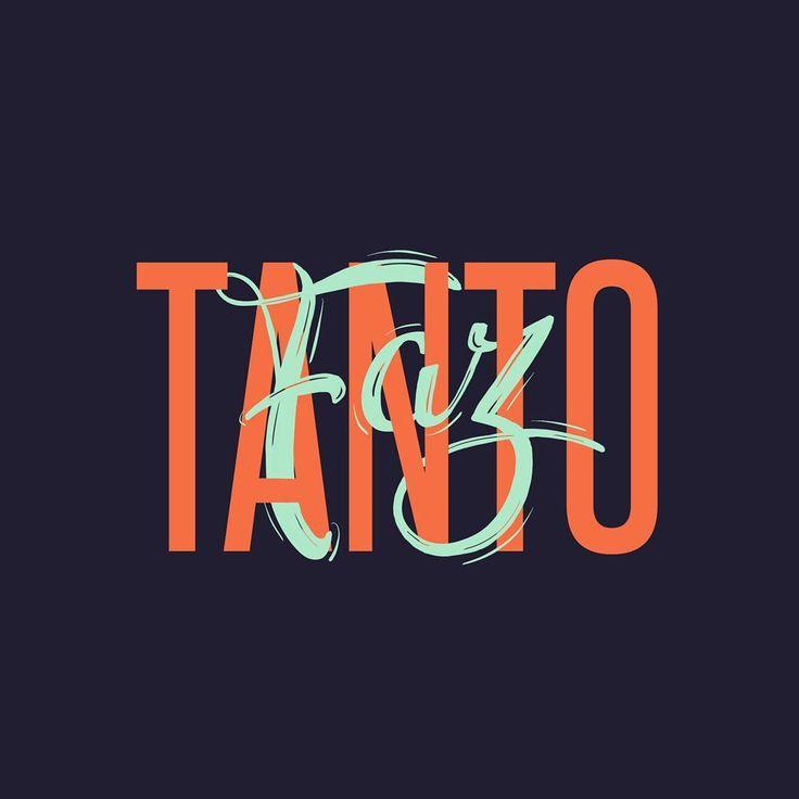 TANTO FAZ es una expresión en portugués que significa: Lo que sea, me da lo mismo, como quieras.  #brasil#lettering#typography#brazil#tantofaz#design#portugues#type#handmadefont#hand_type#expresionesbrasileras#espressoesbrasileiras#ditadospopulares