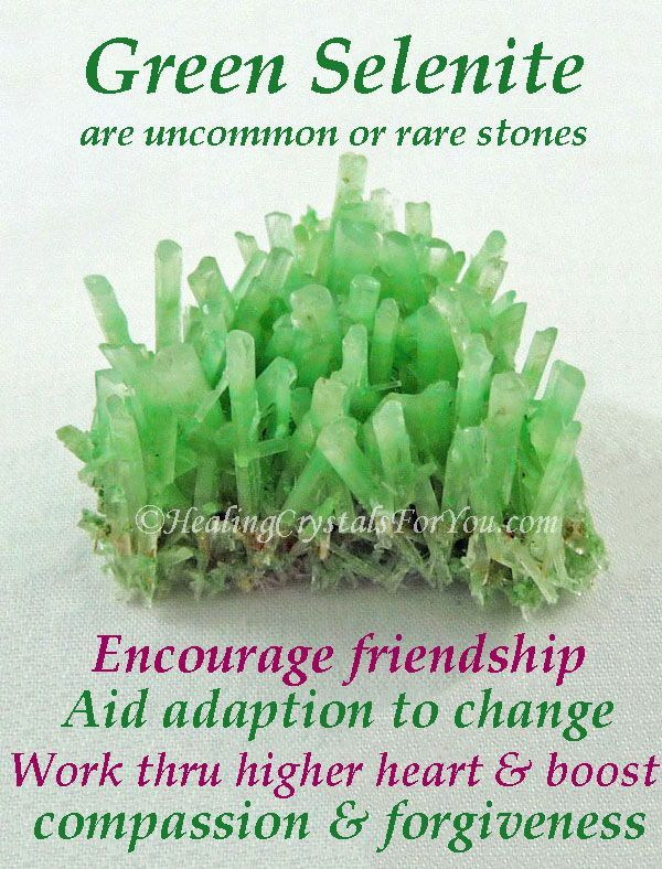 Green Selenite Crystals Meaning Use Help You Adapt To Change Best Healing Crystals Meditation Crystals Spiritual Crystals