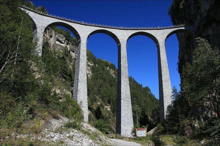 Viaducto Landwasser en 2020 Puentes del mundo, Galerías