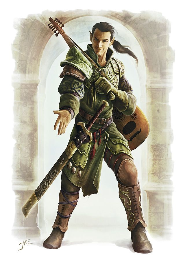 Bard, RPG, character concept