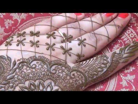 Mughlai Festival Mehndi 2016-Best Henna Mehendi Design Step By Step - YouTube