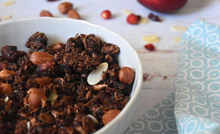 kakaós, vegán és gluténmentes granola IR-eseknek (is)