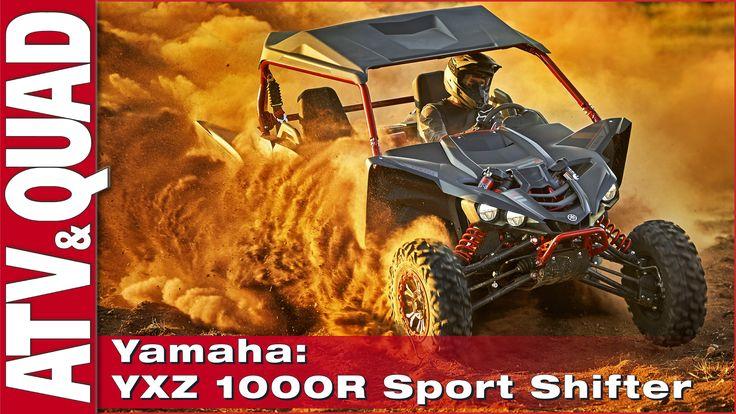 Präsentation: Yamaha YXZ 1000R Sport Shift Den Yamaha YXZ 1000R Sport Shift mit Launch-System und Schaltwippen-Technik ohne Kupplung präsentiert der japanische Hersteller für den Side-by-Side-Markt http://www.atv-quad-magazin.com/aktuell/praesentation-yamaha-yxz-1000r-sport-shift/ #Motorsport #Rennsport #Quadsport #Yamaha #SidebySide #Buggy