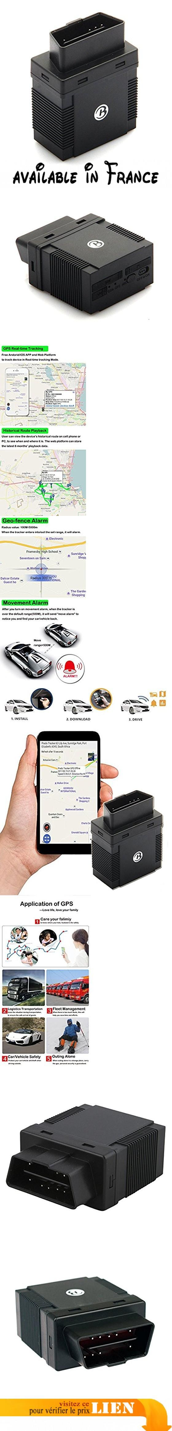 Tkstar, GPS Tracker, véhicule de voiture tracker GPS/GSM/GPRS, EN temps réel GPS Tracker, suivi GPS. & # x2714; application: suivez tout temps et en tout lieu pour l'emplacement des véhicules (location de voiture, camion, moto, congélateur, bateau, etc) de gestion de flotte -anti-theft et anti-perte. & # x2714; savoir où se trouvent vos véhicules: localiser vos véhicules à tout moment avec le suivi GPS. Recevez des alertes lorsque les véhicules ne sont