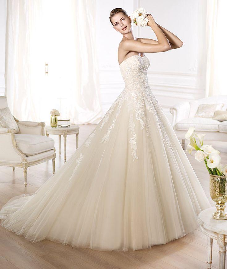 Pronovias Presents The Octavia Wedding Dress Glamour 2014