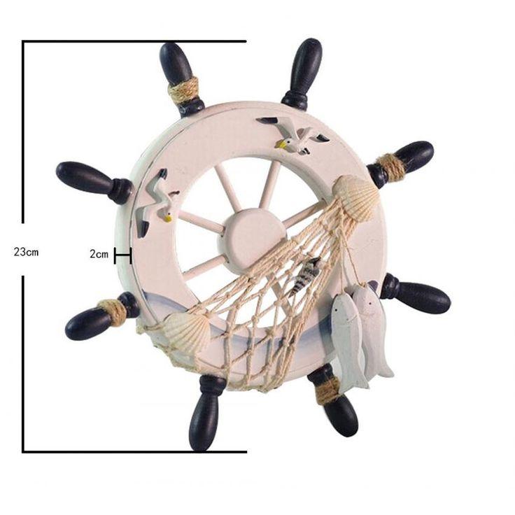 Compra louiwill Timón del Barco de Madera de Pared para la Decoración de Hogar online ✓ Encuentra los mejores productos Artículos Decorativos Louiwill en Linio Chile ✓