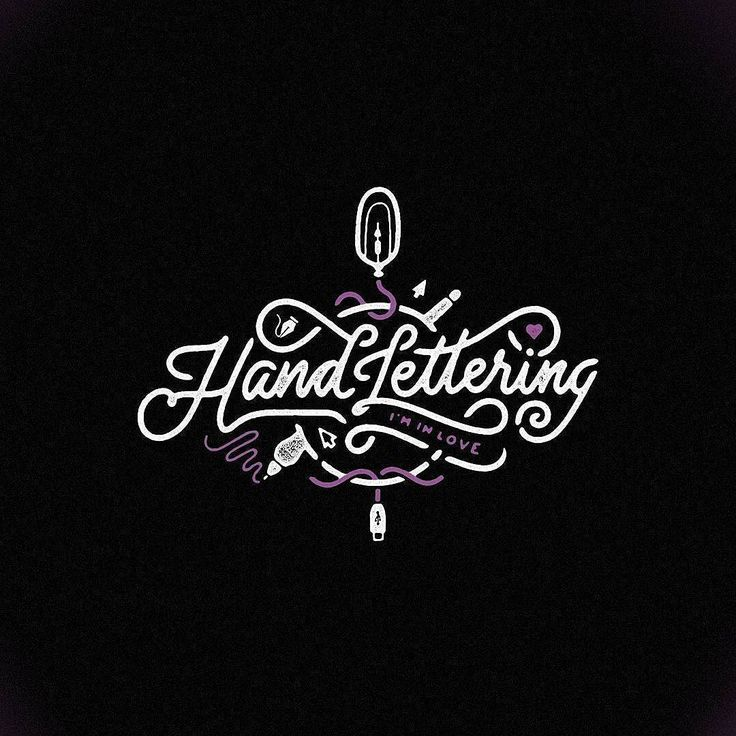 Best Hand Lettering  Calligraphy  Images On