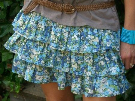 i love this skirt, except it would have to be a little longer...I am petite, but I also have short legs...urgh