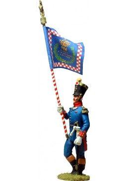 NP 594 KINGDOM OF NAPLES REGIMENT DI NAPOLI STANDARD BEARER