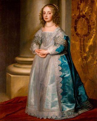 Антонис ван Дейк. Принцесса Мария Стюарт