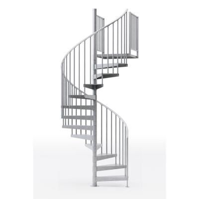 Best Mylen Stairs Reroute Galvanized 60 In 5 Ft In Wide 400 x 300