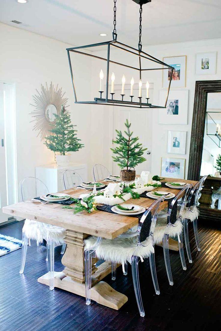 Modern Farmhouse Christmas Table Tips For Creating A Holiday Table Decor Home Decor Diy Home Decor
